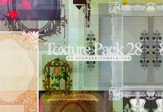 16 Free Vintage Paper Texture Packs