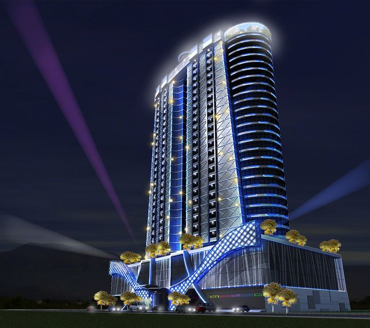 Aeon Towers Architect's Perspective (Nighttime)
