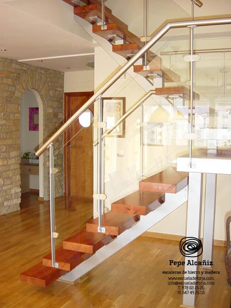 Escaleras de interior a medida, escaleras de interiores, escalera ...