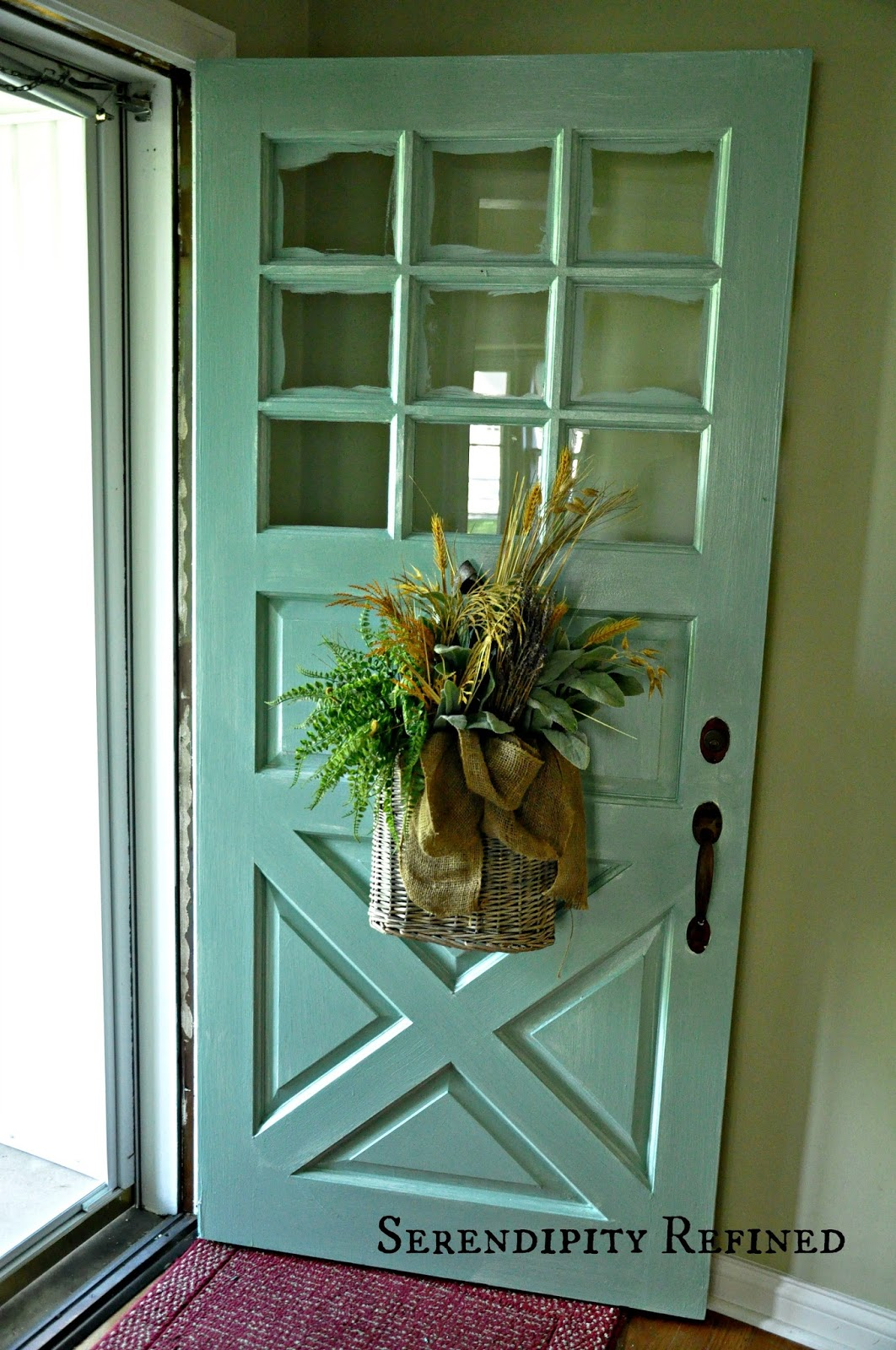 1600 #30371C Serendipity Refined Blog: Turquoise Painted Wood Exterior Doors save image Best Paint For Wooden Doors 44271062