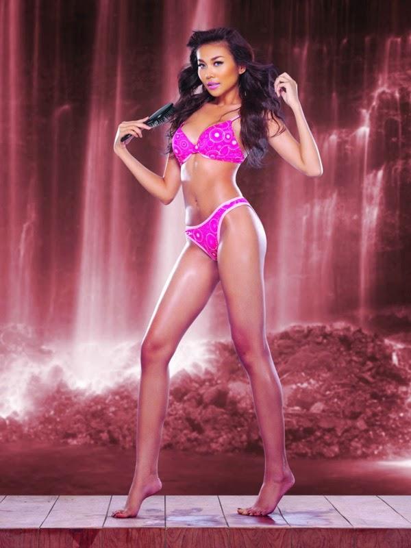 Thanh Hang show off sexy bikini photos, fascinated