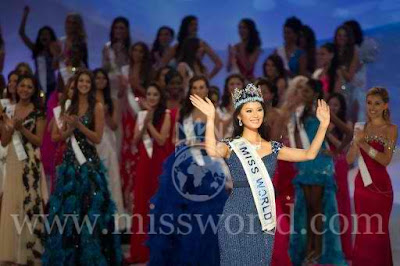 Miss World 2012 winner is Miss China Wen Xia Yu