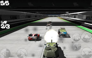 Screenshots of the Battle cars: Action racing 4x4 for Android tablet, phone.