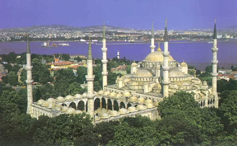 TÜRKİYENİN TURİZM ALANLARI: Sultan Ahmet Camii