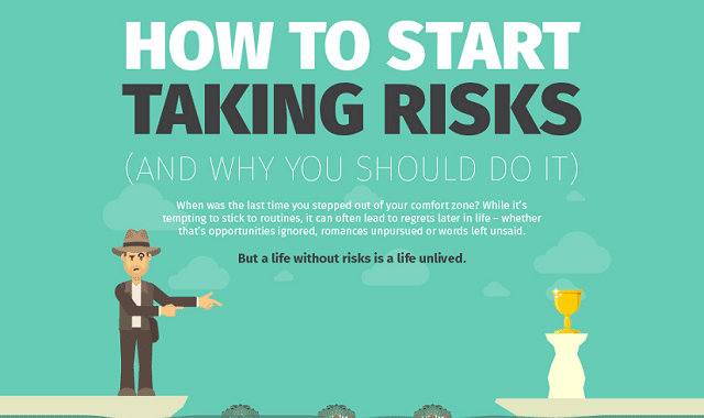 How to start taking risks (and why you should do it)