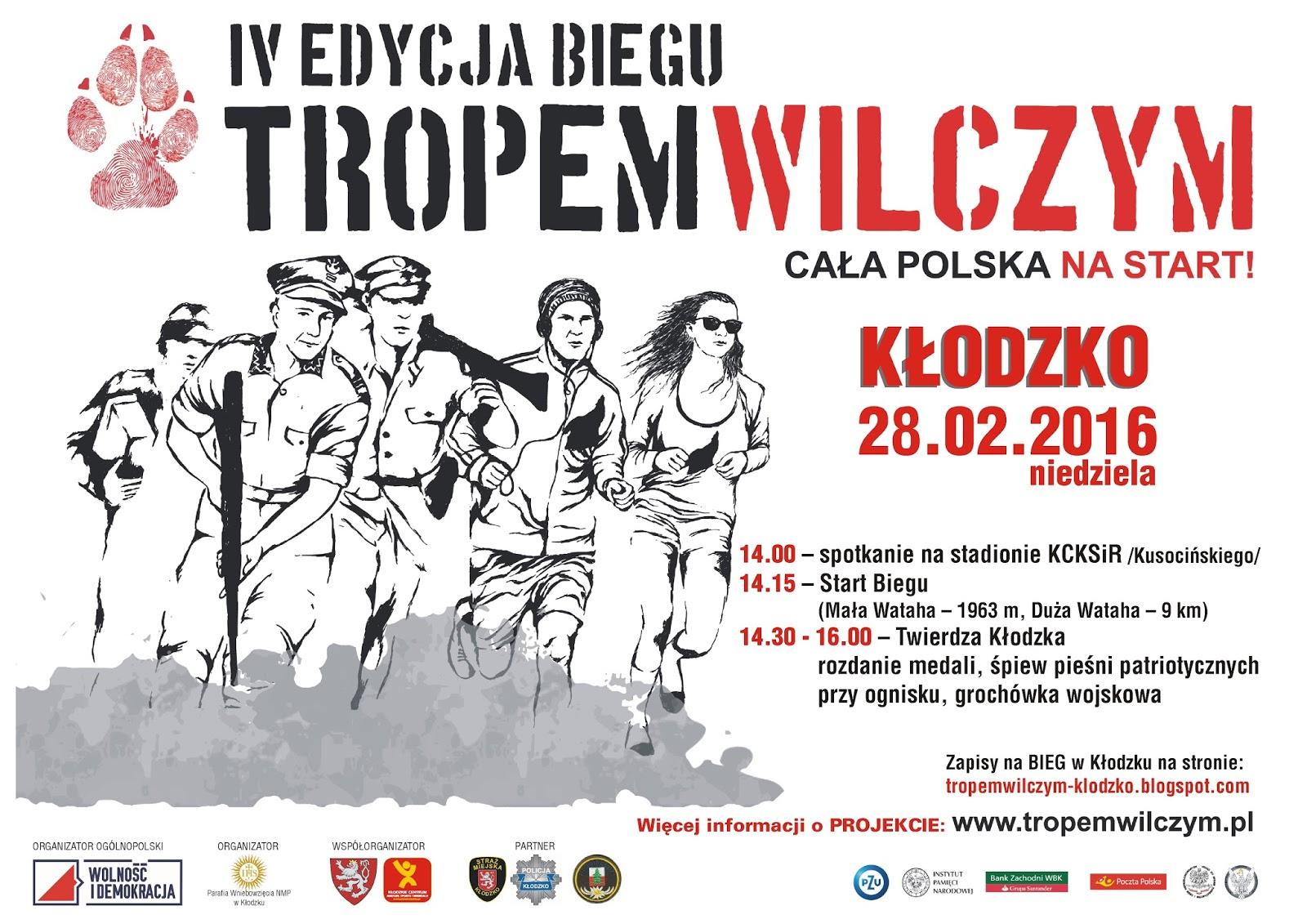 Plakat IV edyzji Biegu