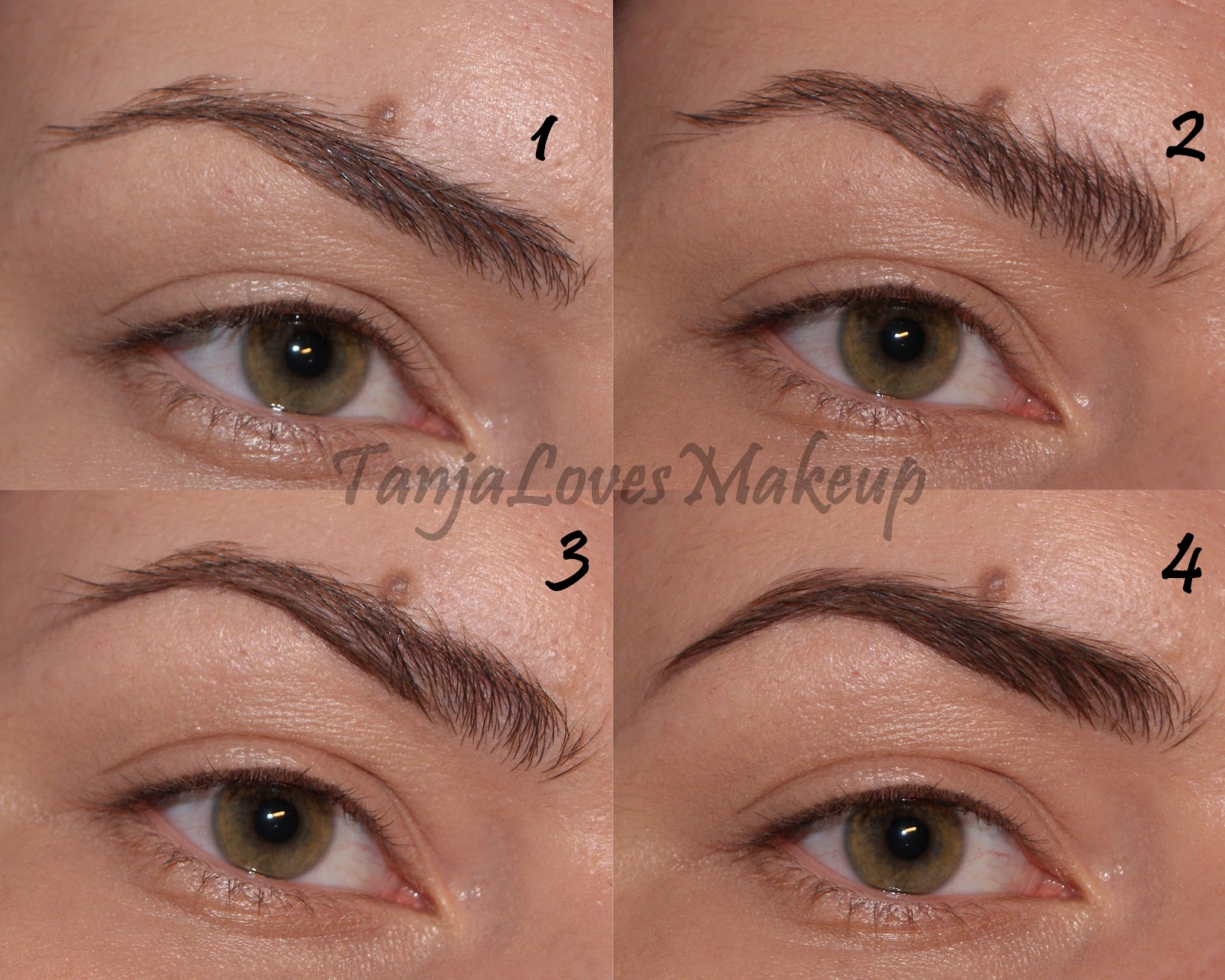 Tutorial How I Do My Brows Tanja Loves Makeup