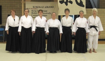 A Few Strong Women in Kokikai Aikido