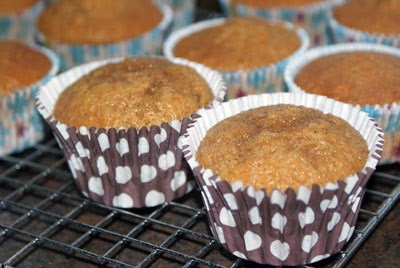 Cupcakes en rejilla