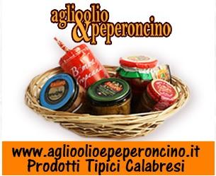 Prodotti tipici Calabria