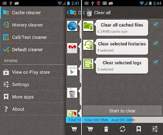 Free Download 1Tap Cleaner .APK Full 2015