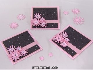materiales papel rosa claro de 15 x 30cm papel rosa mediano de 14 x