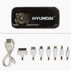 HomeShop18 Special Offer: Hyundai 6300 mAh Power Bank With Free Travel Adapter worth Rs.2499 for Rs.799 Only (For Today Only)