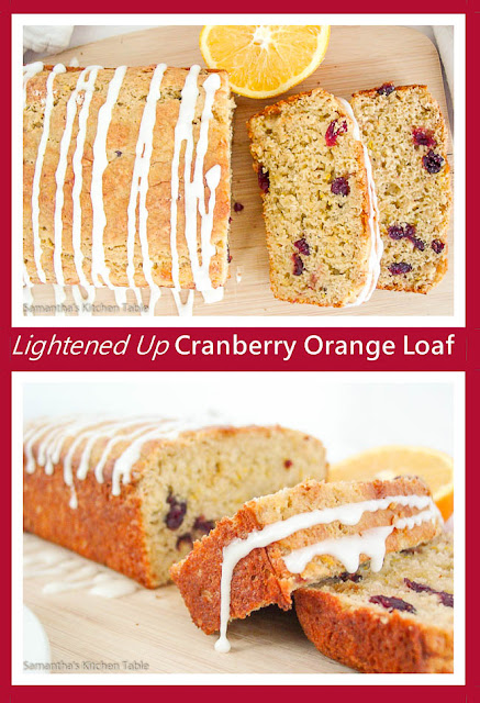 Lightened Up Cranberry Orange Loaf