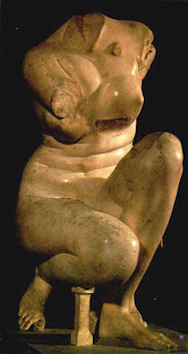 Afrodita en Cuclillas. Escultura helenistica. Grecia