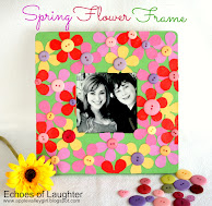 Make A Spring Flower Frame