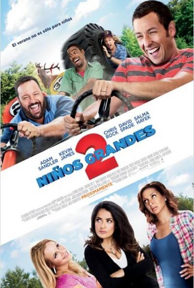 Ver pelicula Niños grandes 2 2013 español Online latino Gratis