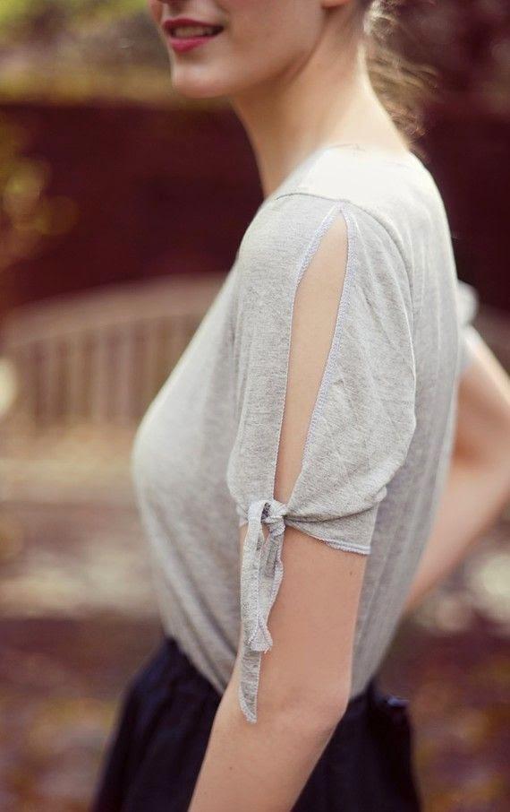 Tişörtlerin Kollarını  Yenileme