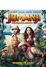 Jumanji: En la selva (2017) BRRip 720p Latino AC3 5.1 / ingles AC3 5.1