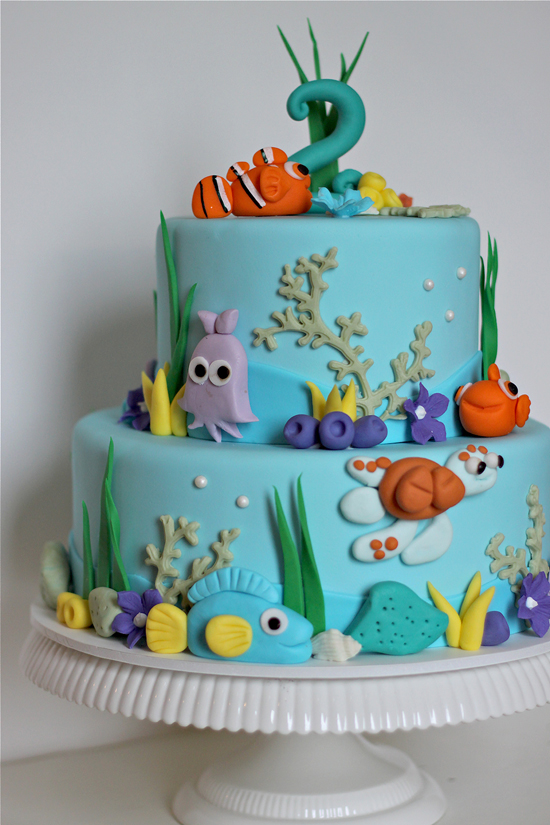 blues clues party invitations moreover finding nemo baby shower cake