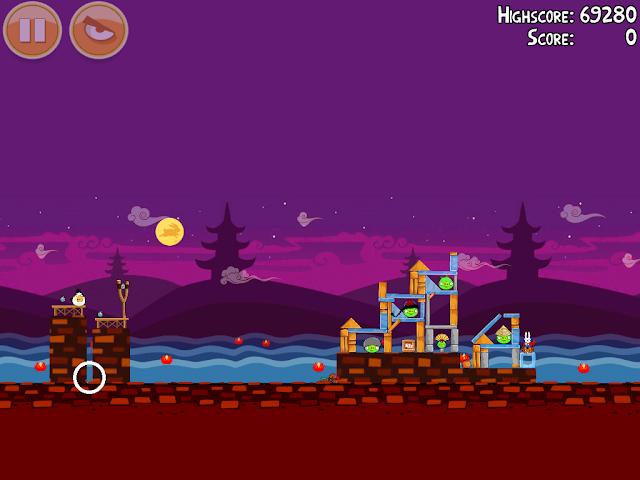 Angry Birds Seasons: Mooncake Festival 2-12