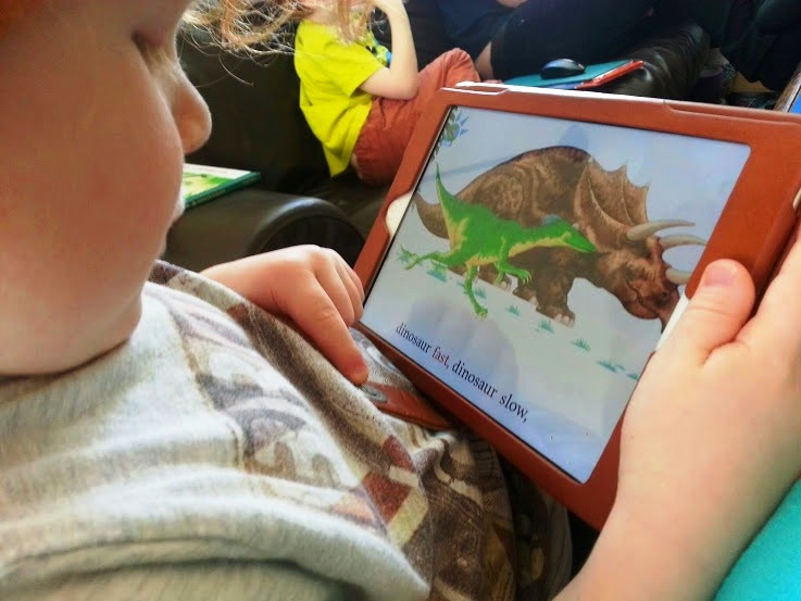 Dinosaur Roar app for iPad iPhone