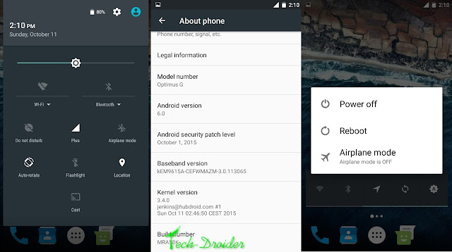 [AOSP] How to Install Android Marshmallow 6.0 on LG Optimus G E975/F180X