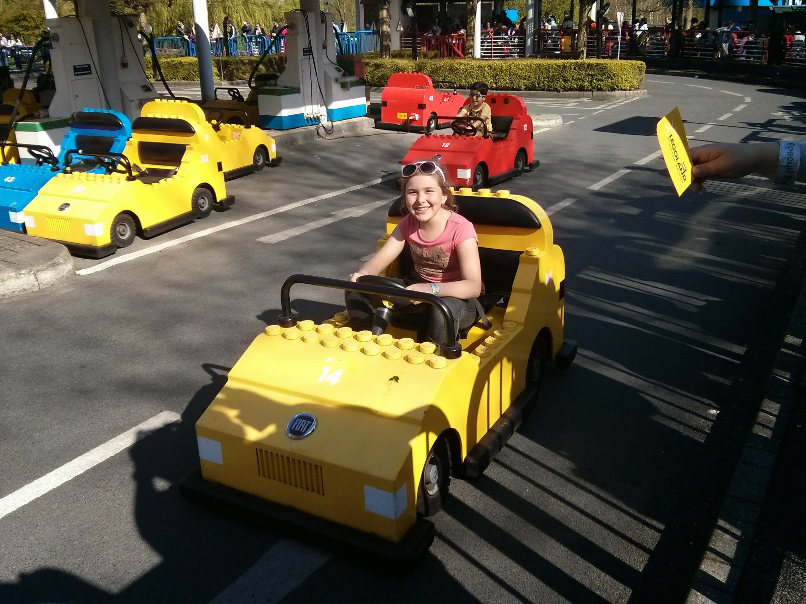 Top Ender driving at LEGOLAND Windsor