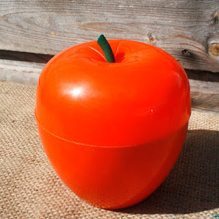 Pomme glaçon vintage des années 70 - orange !