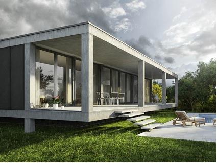 Arquitectura arquidea renders realistas y renders for Render casa minimalista