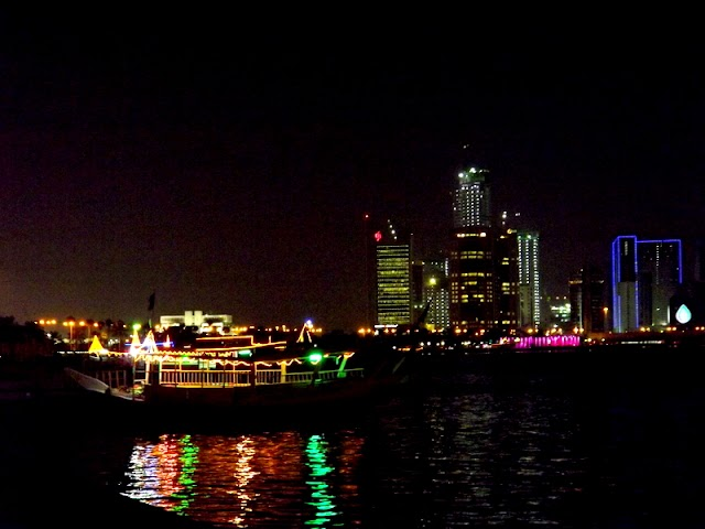 Doha Corniche Beach Night vision