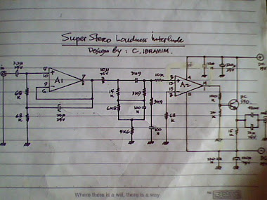 Rangkaian Stereo Loudness with IC