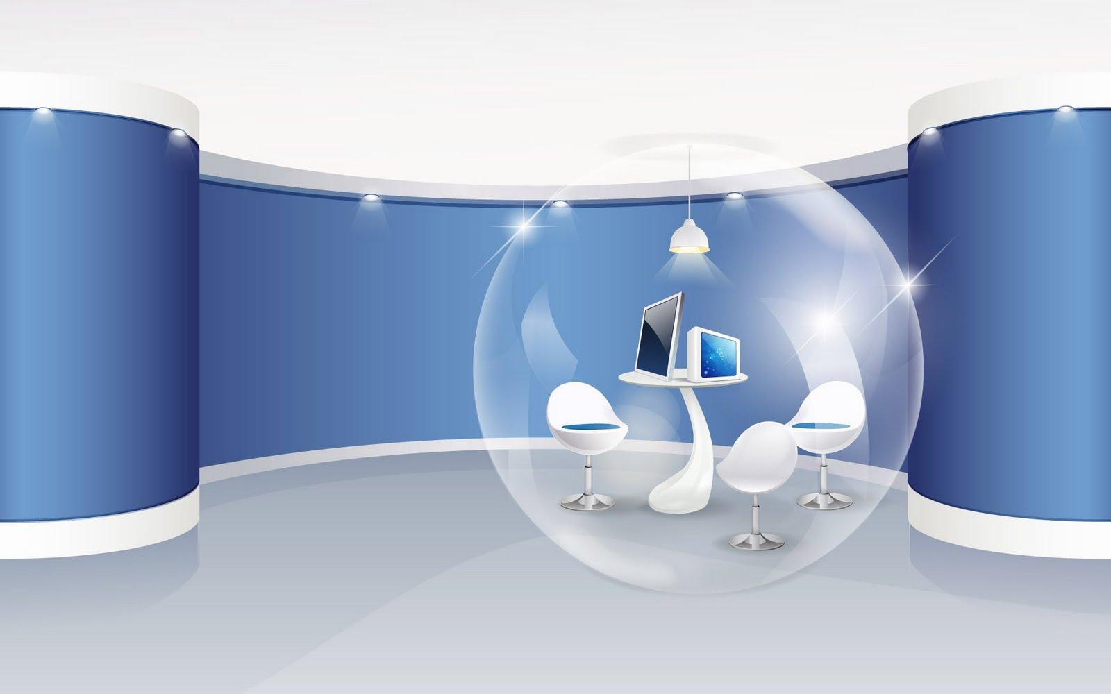 Digital Art Interior Design HD Wallpaper Set 1