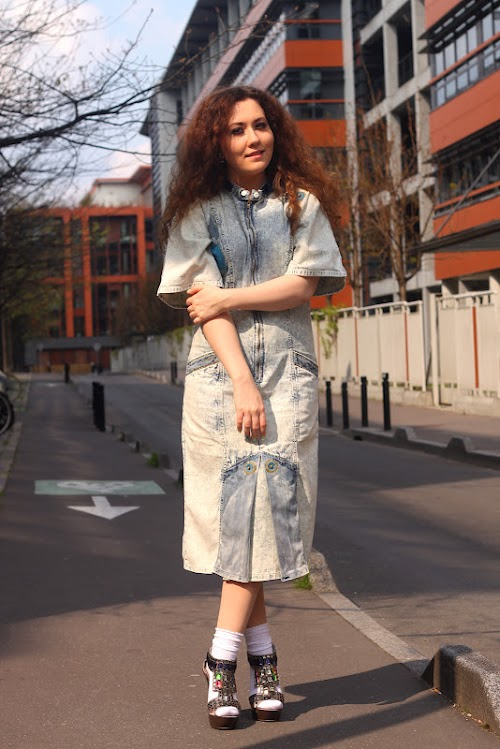 The denim dress ♥