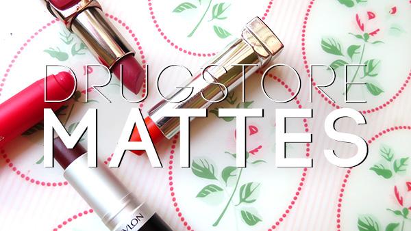 drugstore matte lipstick revlon loreal maybelline