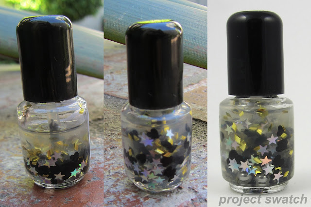 Nail Pattern Boldness Glitter Food - test