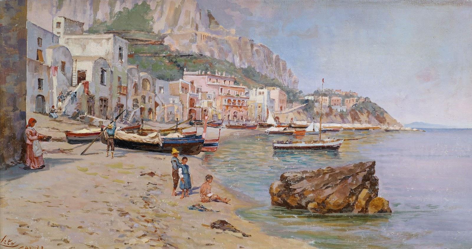 Antonino Leto Marina Grande Capri