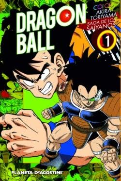 Portada Dragon Ball Color nº 01: Saga de los Saiyanos