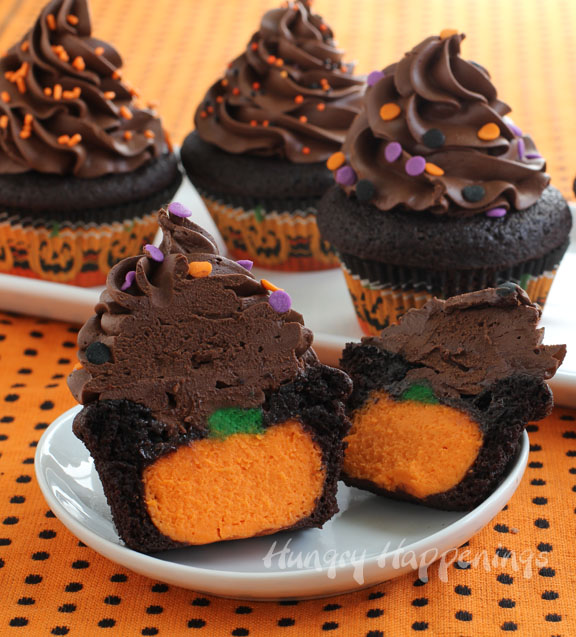 The Ultimate Chocolate Cupcake Stuffed With A Cheesecake