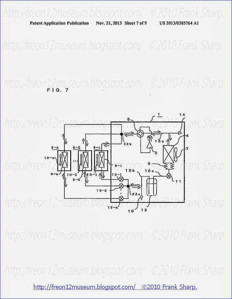 7 is a schematic diagram illustrating a refrigerant circuit of an  air-conditioning apparatus according to Embodiment 2 of the present  invention.