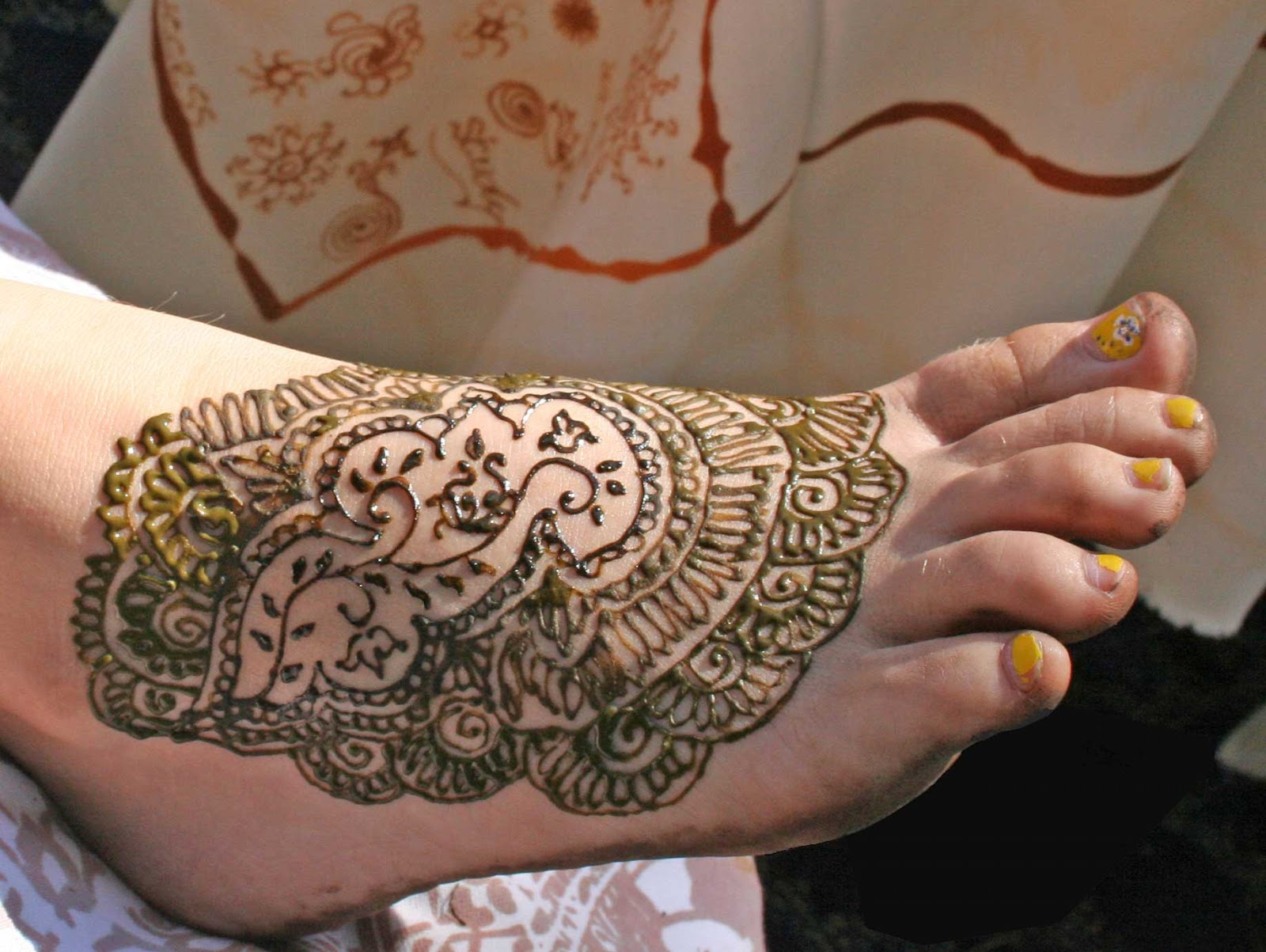 HAIDER MUNIR New Mehndi Designs