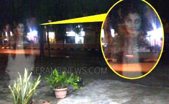 Penampakan Hantu Tertangkap Kamera di Kota Sigli