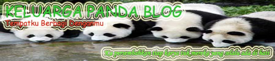 Keluarga Panda Blog