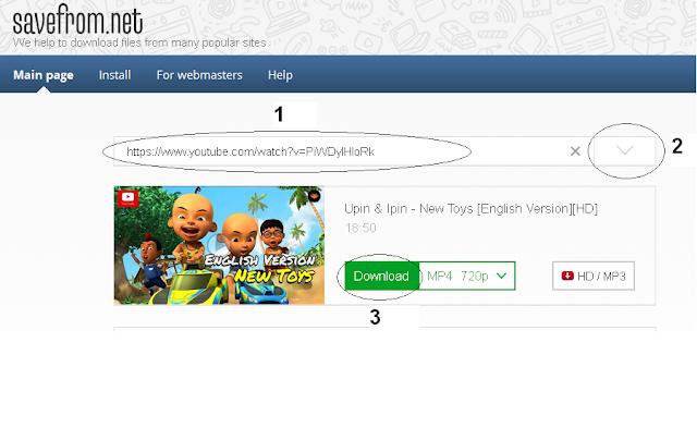 Cara Mudah dan Cepat Download Video Youtube Tanpa Software