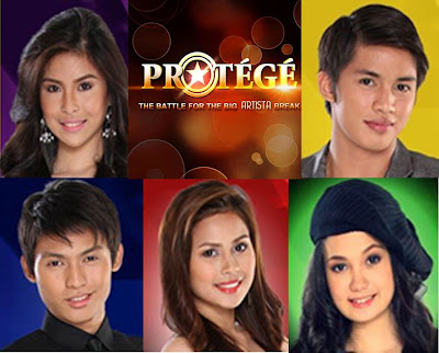 Protege eliminated hopefuls: Mitch Capili, Glenn Roy, Kelly D., Apple Vega and Mykel Ong