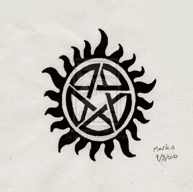Supernatural tattoo tattoo designs for Dean and sams tattoo