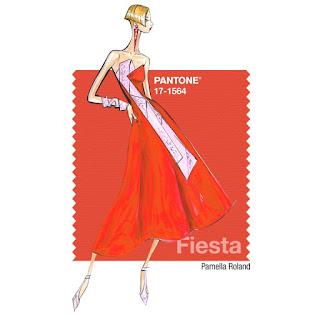 Sprinkle On Glitter Blog// Pantone Spring 2016, pt 2// Fiesta//Pamela Roland