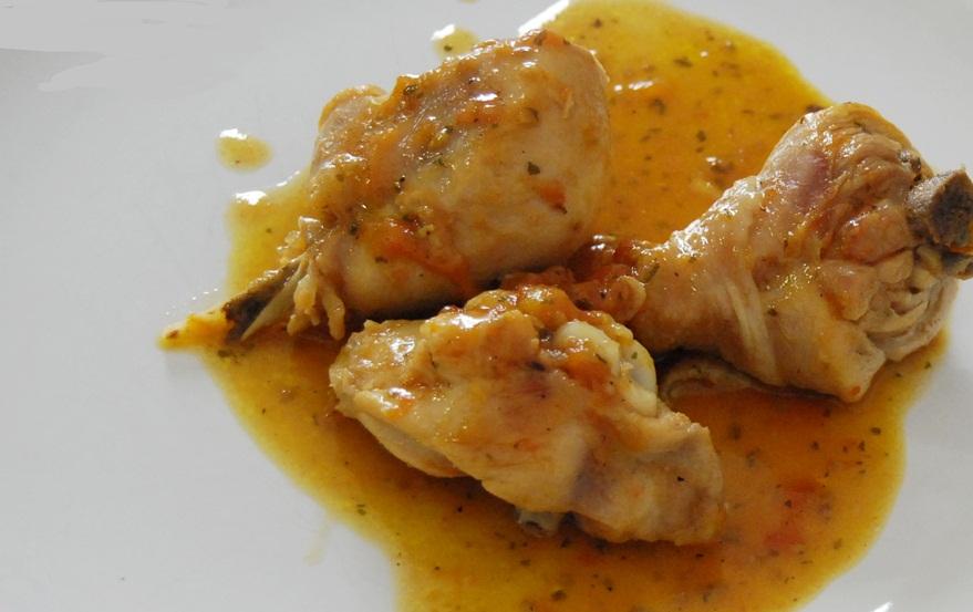 Como los pollos de corral suelen ser mas grandes bastara - Pollo de corral guisado ...