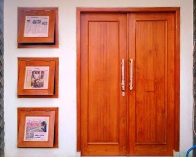 Model Pintu Rumah Minimalis yang Terlihat Menarik