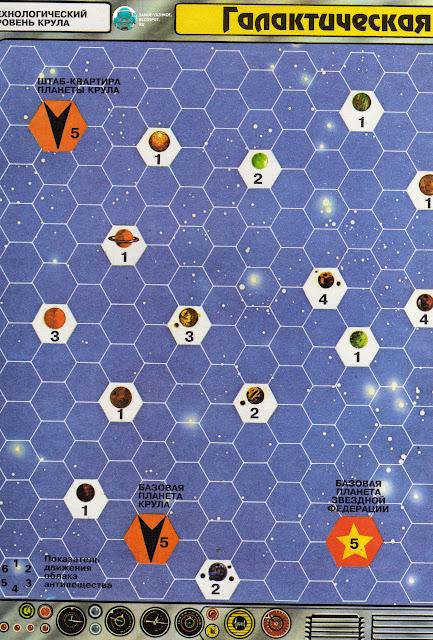 Настольная игра Галактическая война серия Играем в сражения скачать скан